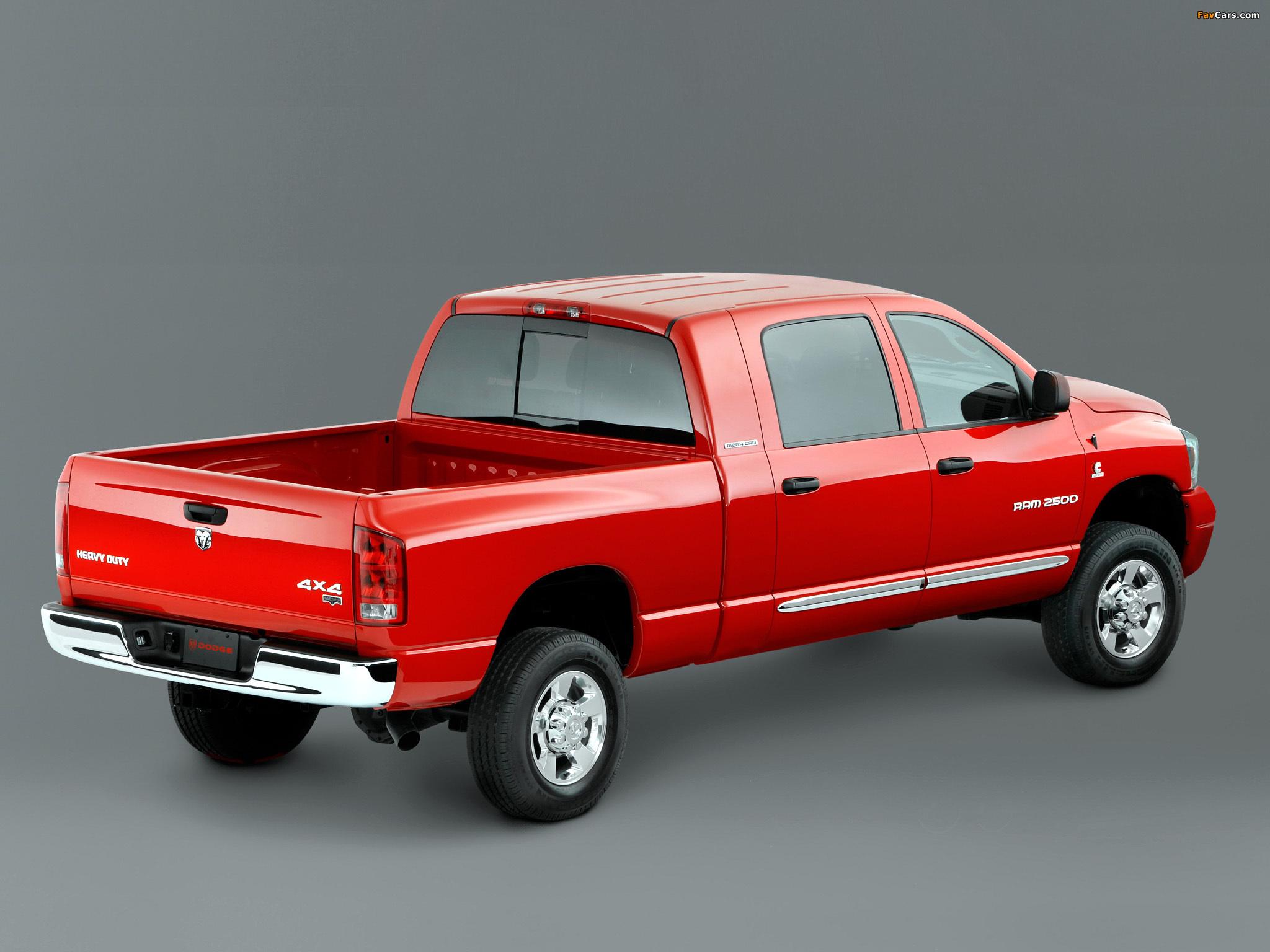 Dodge Ram 2500 Mega Cab 2006–09 images (2048 x 1536)