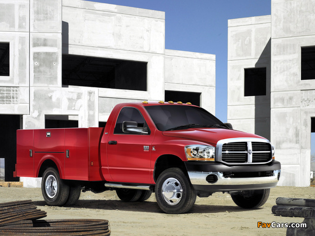 Dodge Ram 3500 Chassis Regular Cab 2006–09 pictures (640 x 480)