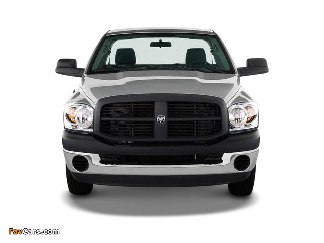 Dodge Ram 2500 Regular Cab 2006–09 wallpapers (640 x 480)