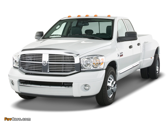 Dodge Ram 3500 Quad Cab 2006–09 wallpapers (640 x 480)