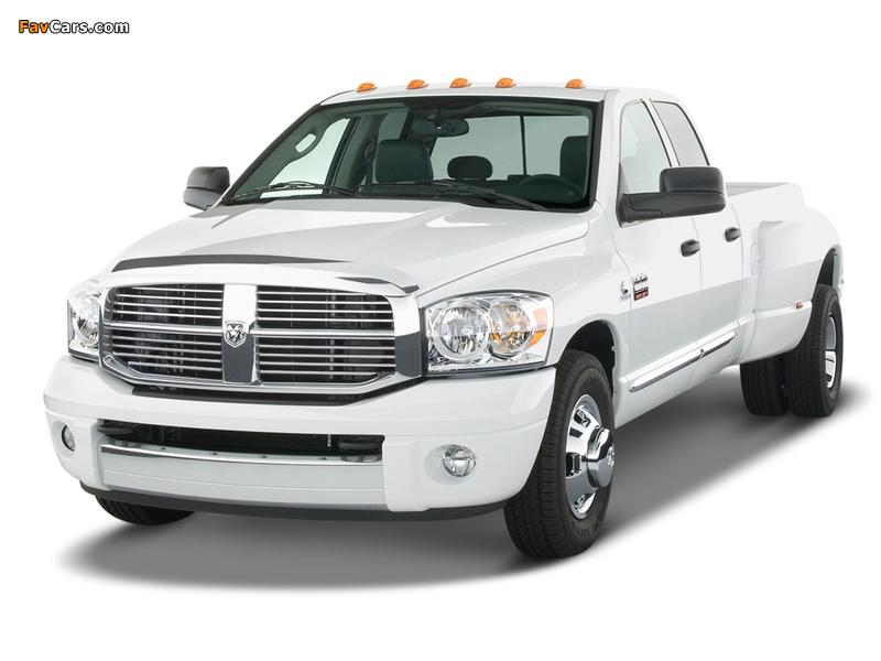 Dodge Ram 3500 Quad Cab 2006–09 wallpapers (800 x 600)