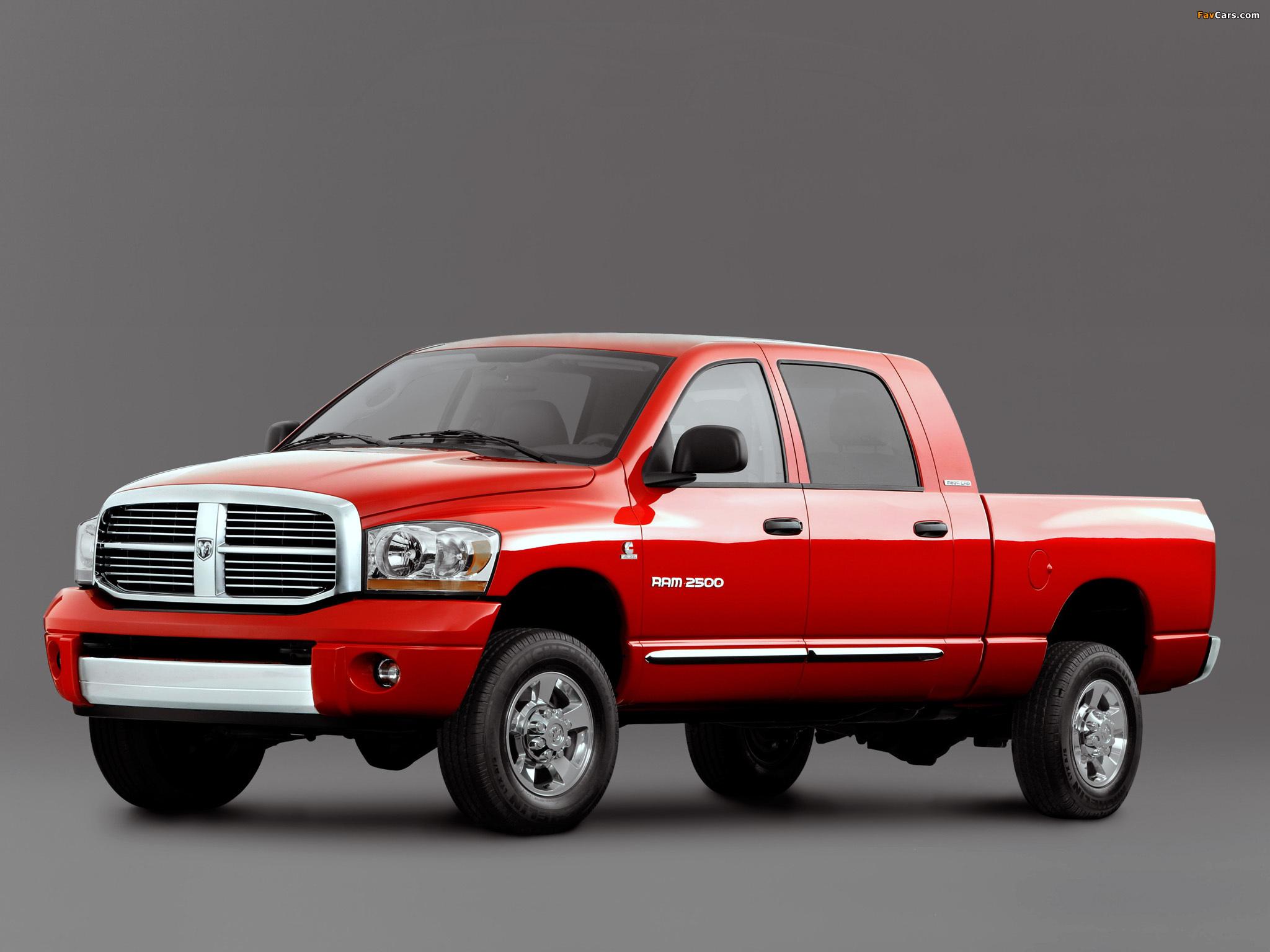 Dodge Ram 2500 Mega Cab 2006–09 wallpapers (2048 x 1536)