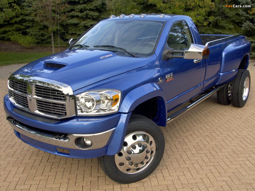 Dodge Ram 5500 BFT 2007–09 photos (1024 x 768)
