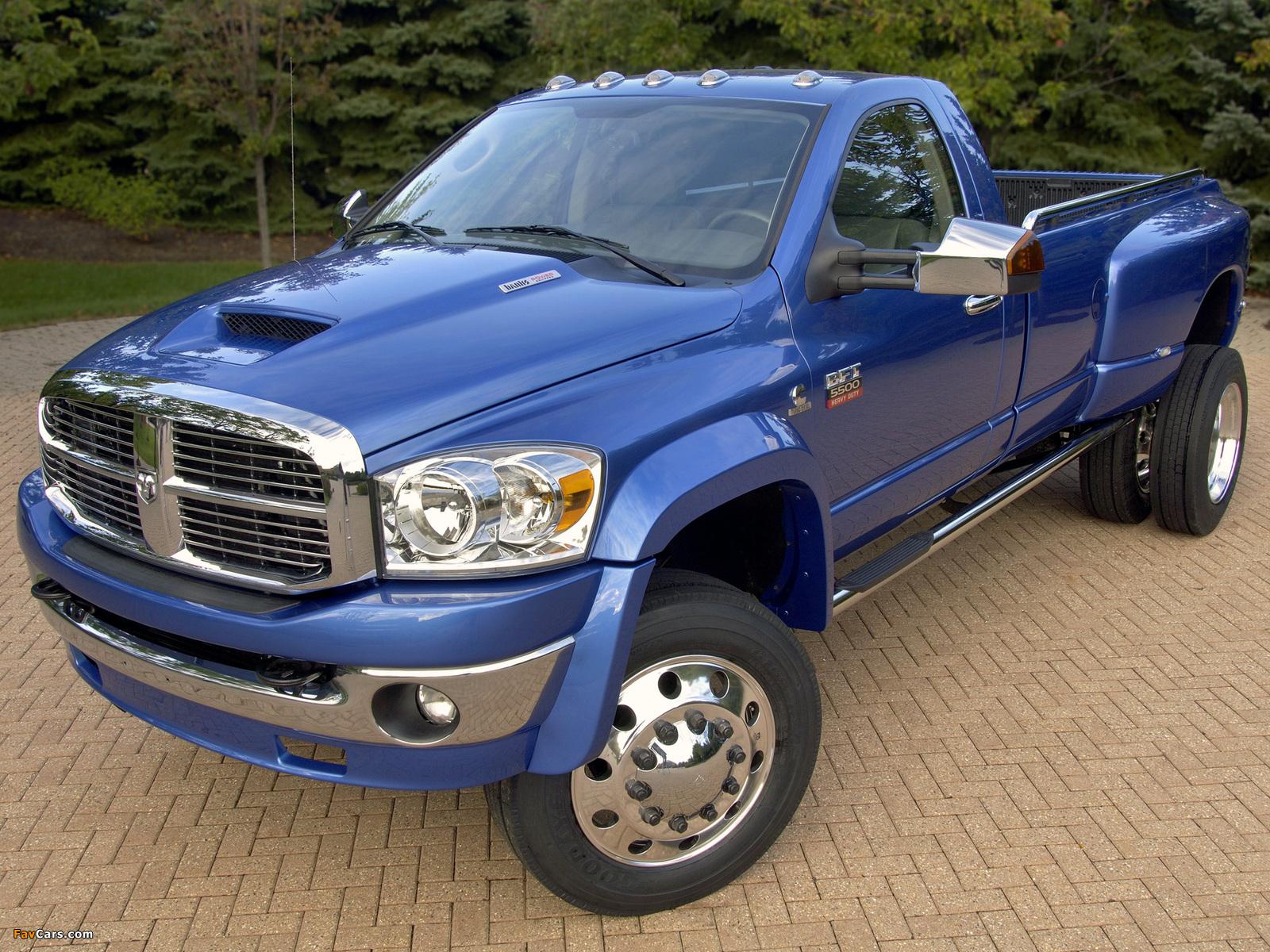 Dodge Ram 5500 BFT 2007–09 photos (1600 x 1200)