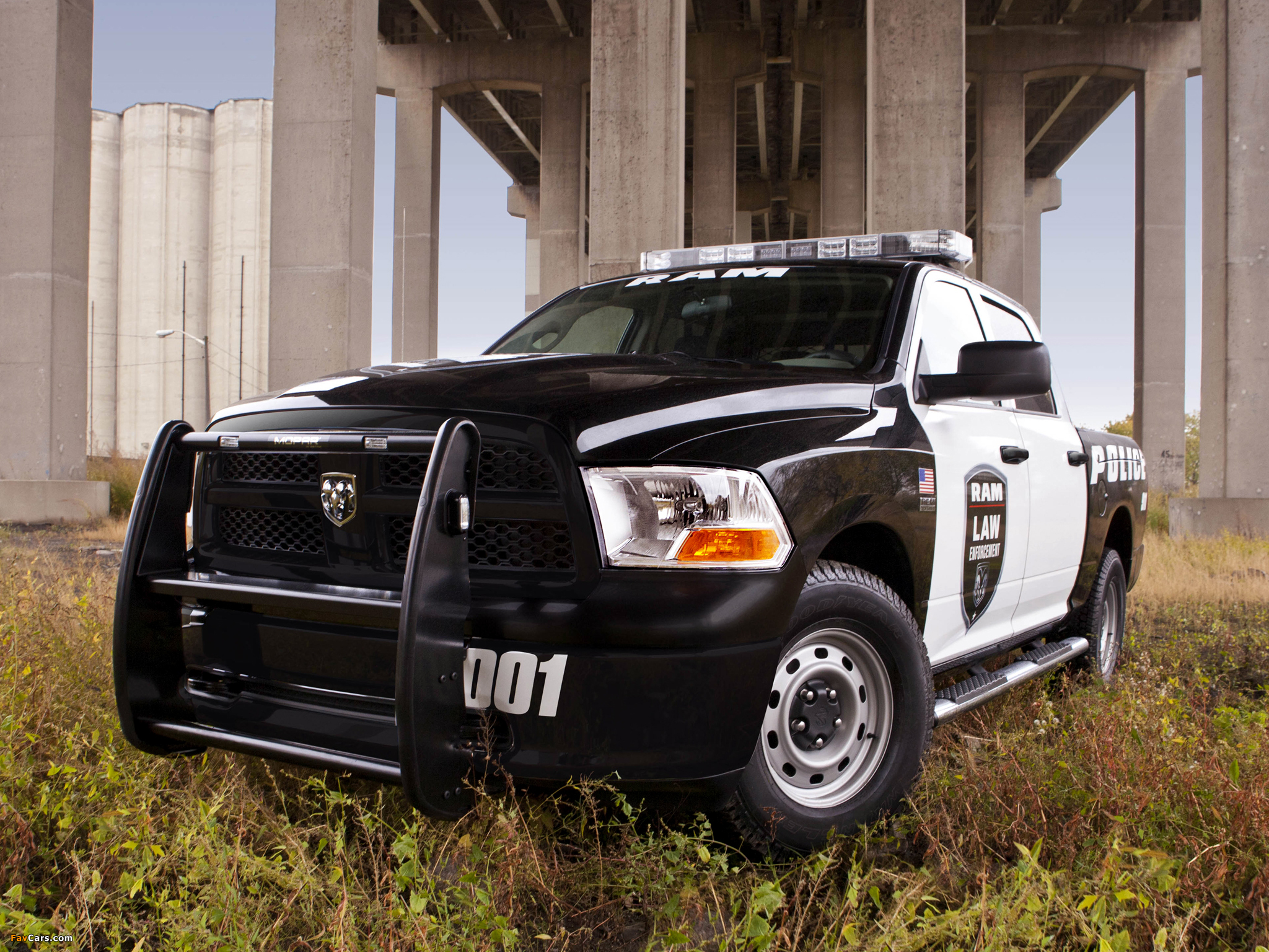 Ram 1500 Crew Cab Special Service Package Police Truck 2011 images (2048 x 1536)