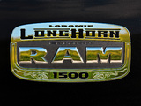 Ram 1500 Laramie Longhorn Crew Cab 2011–12 photos