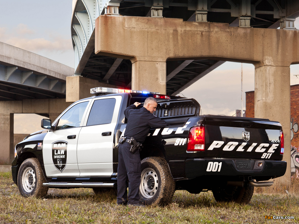 Ram 1500 Crew Cab Special Service Package Police Truck 2011 pictures (1024 x 768)
