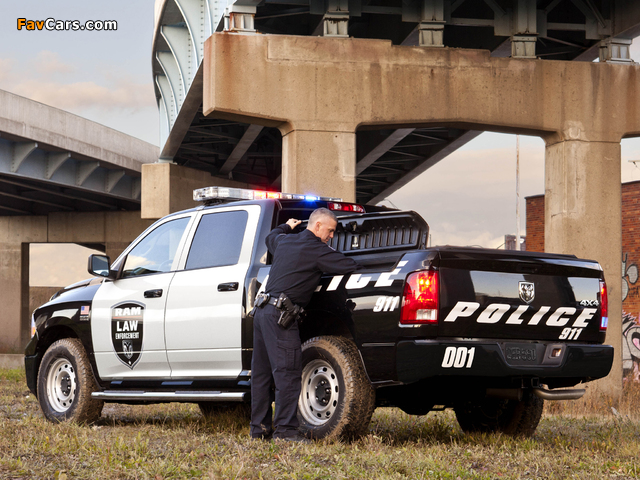 Ram 1500 Crew Cab Special Service Package Police Truck 2011 pictures (640 x 480)