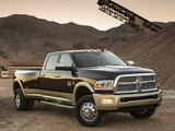Ram 3500 Laramie Longhorn Crew Cab 2012 wallpapers
