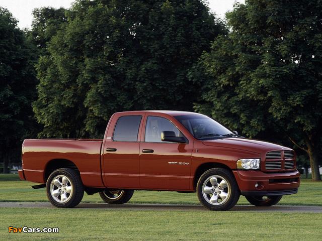 Dodge Ram 1500 Quad Cab photos (640 x 480)