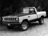 Images of Dodge Power Ram Custom SE (W150) 1981