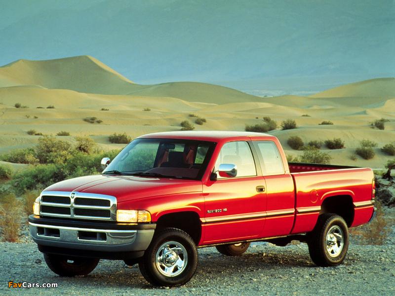 Images of Dodge Ram 1500 Club Cab 1994–2001 (800 x 600)