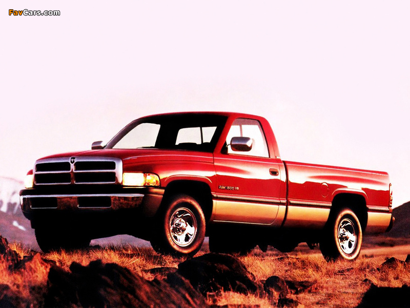 Images of Dodge Ram 1500 Regular Cab 1994–2001 (800 x 600)