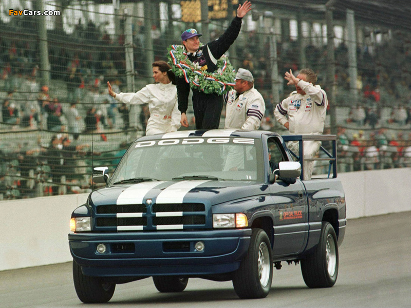 Images of Dodge Ram Indy 500 Pace Truck 1996 (800 x 600)