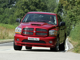 Images of Dodge Ram SRT10 Quad Cab 2005–06