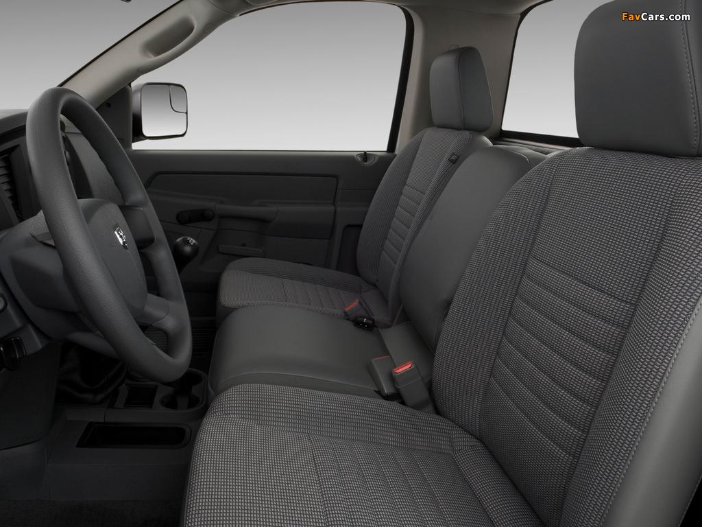 Images of Dodge Ram 2500 Regular Cab 2006–09 (1024 x 768)