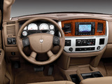 Images of Dodge Ram 2500 Mega Cab 2006–09