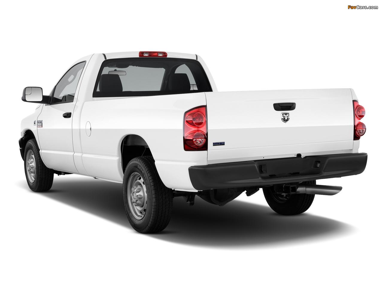 Images of Dodge Ram 2500 Regular Cab 2006–09 (1280 x 960)