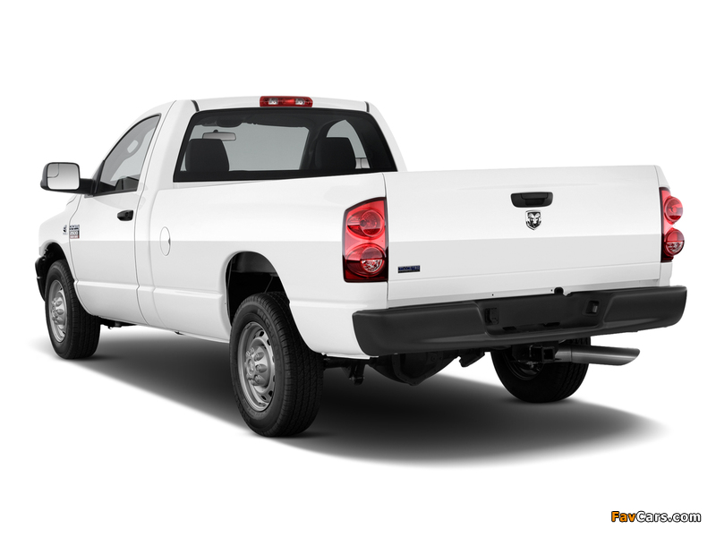 Images of Dodge Ram 2500 Regular Cab 2006–09 (800 x 600)