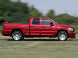 Photos of Dodge Ram SRT10 Quad Cab 2005–06