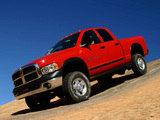 Photos of Dodge Ram Power Wagon Quad Cab 2005–08