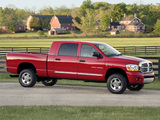 Photos of Dodge Ram 2500 Mega Cab 2006–09