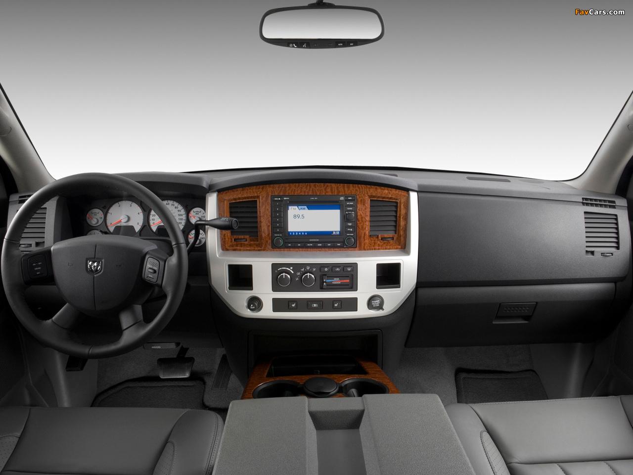 Photos of Dodge Ram 3500 Quad Cab 2006–09 (1280 x 960)