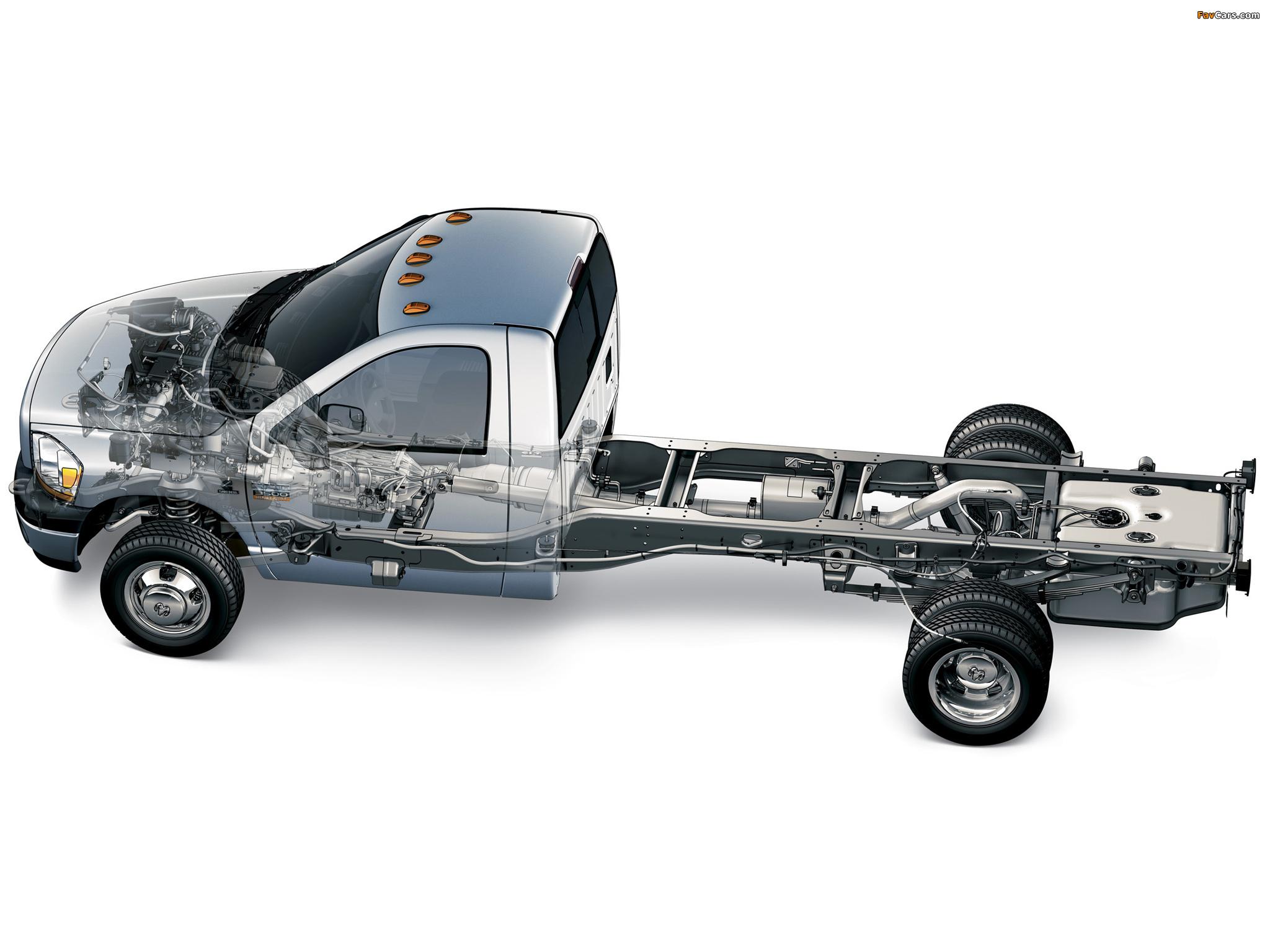 Photos of Dodge Ram 3500 Chassis Regular Cab 2006–09 (2048 x 1536)