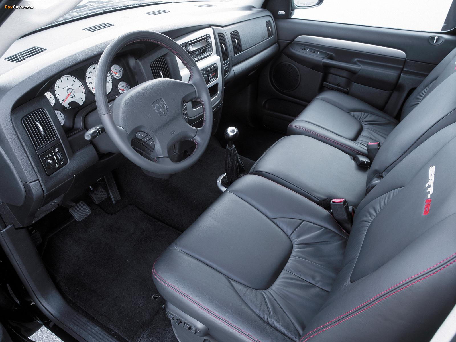 Pictures of Dodge Ram SRT10 Concept 2002 (1600 x 1200)