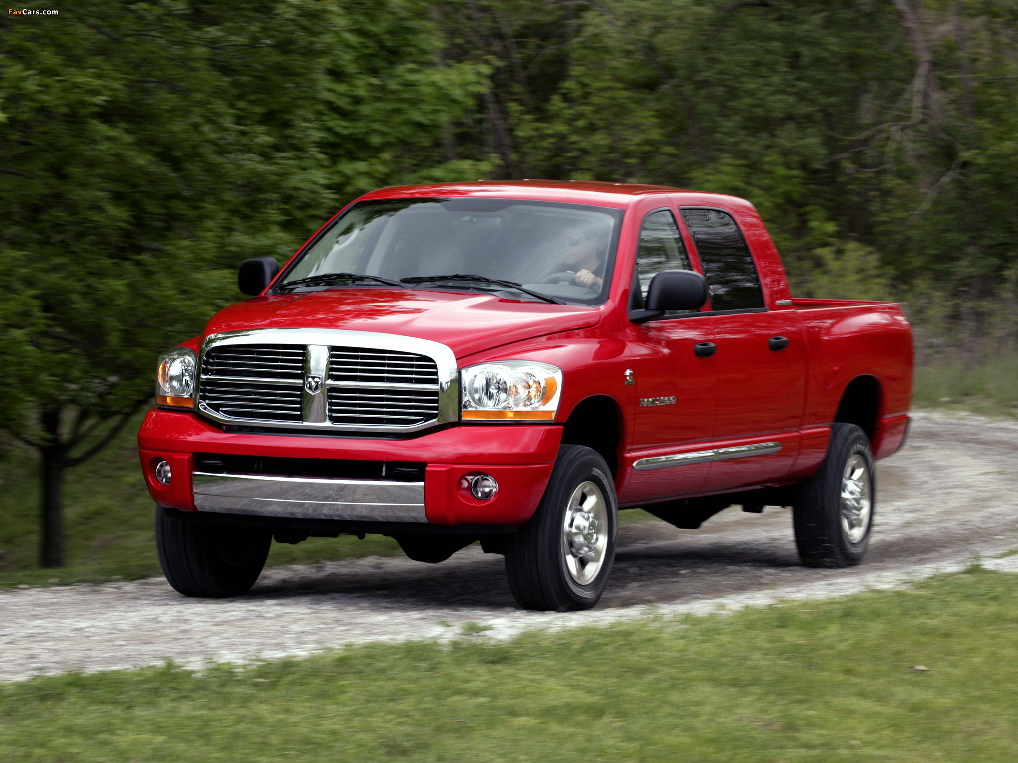 Pictures of Dodge Ram 2500 Mega Cab 2006–09 (2048 x 1536)