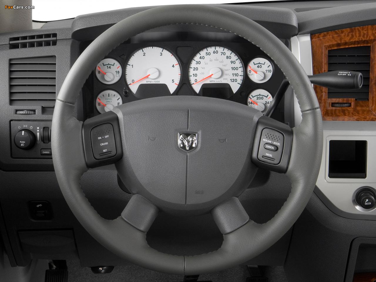 Pictures of Dodge Ram 3500 Quad Cab 2006–09 (1280 x 960)