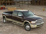 Pictures of Ram 3500 Laramie Longhorn Crew Cab 2012