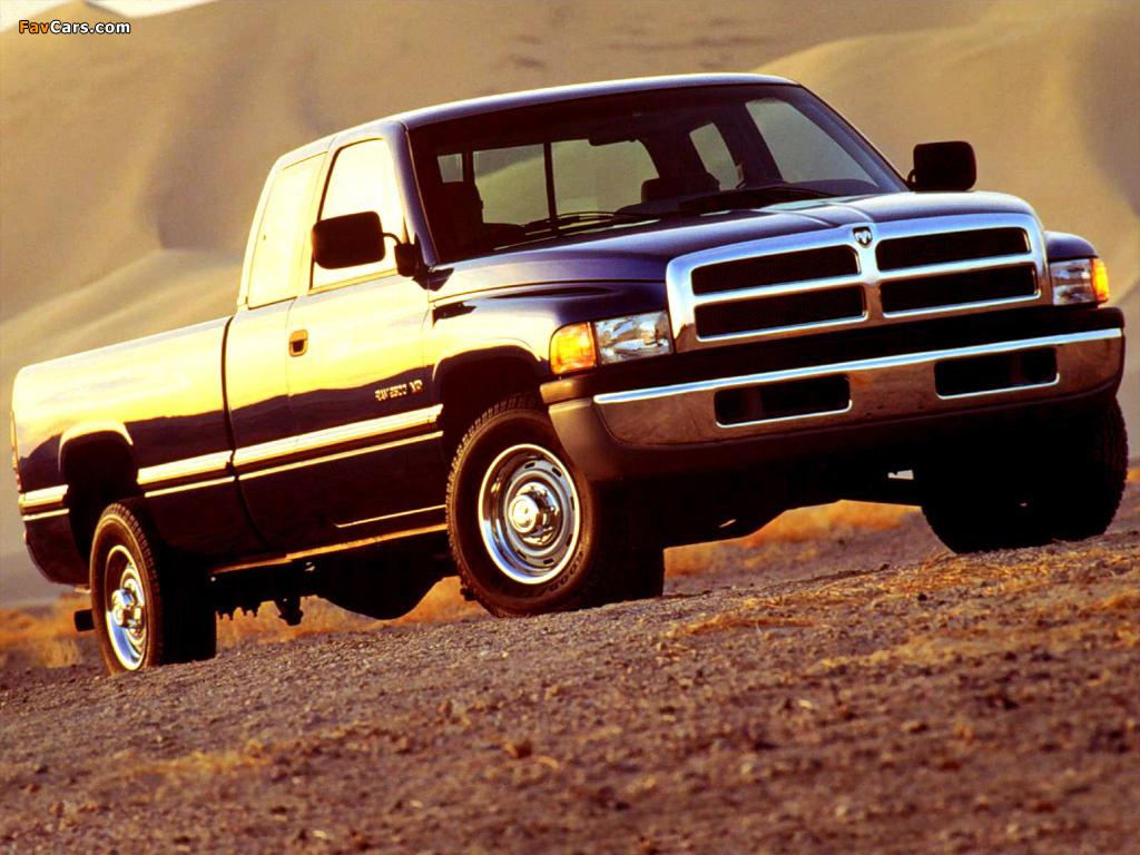 Dodge Ram 2500 Club Cab 1994–2002 wallpapers (1024 x 768)
