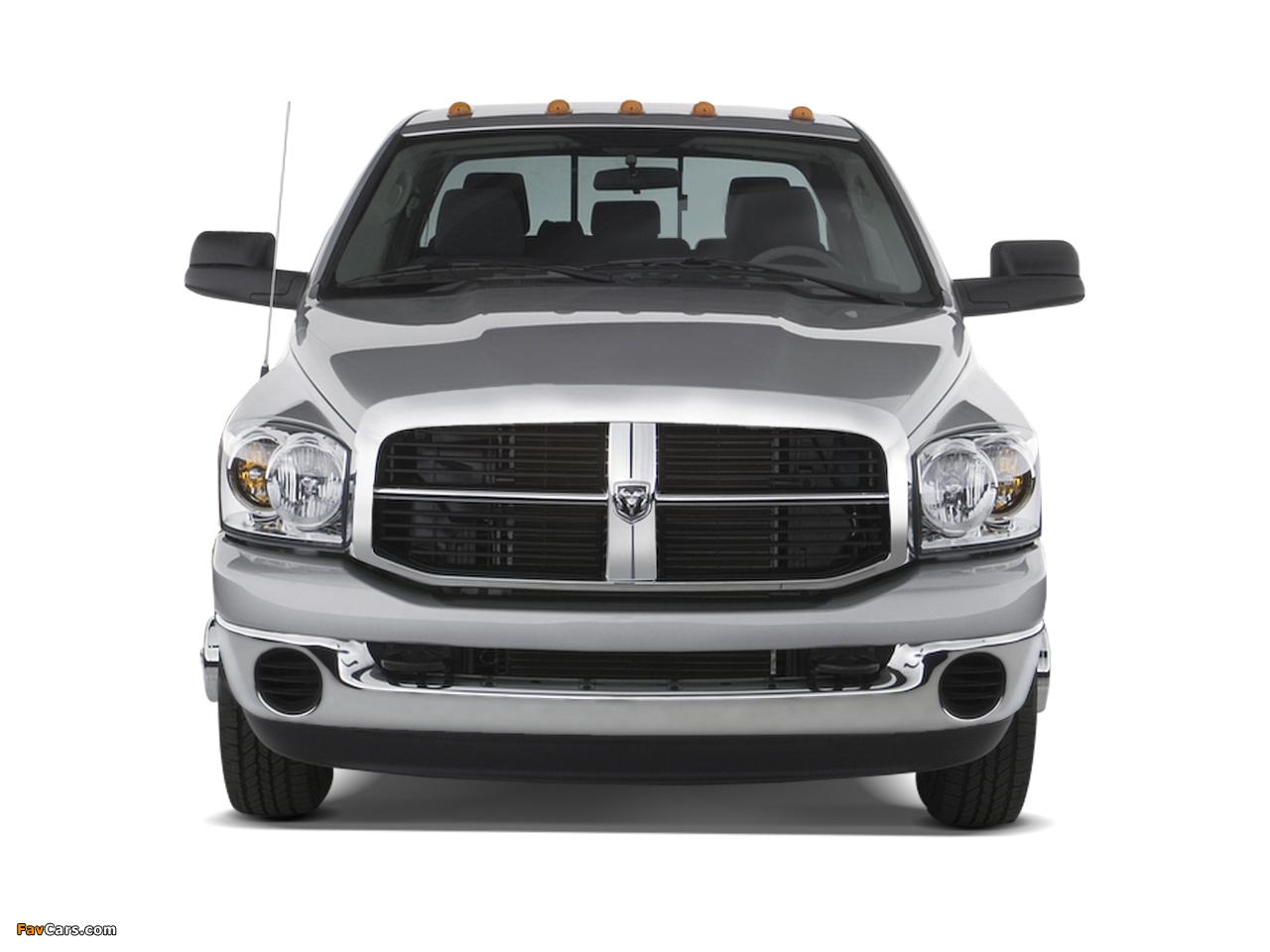 Dodge Ram 3500 Mega Cab 2006–09 wallpapers (1280 x 960)