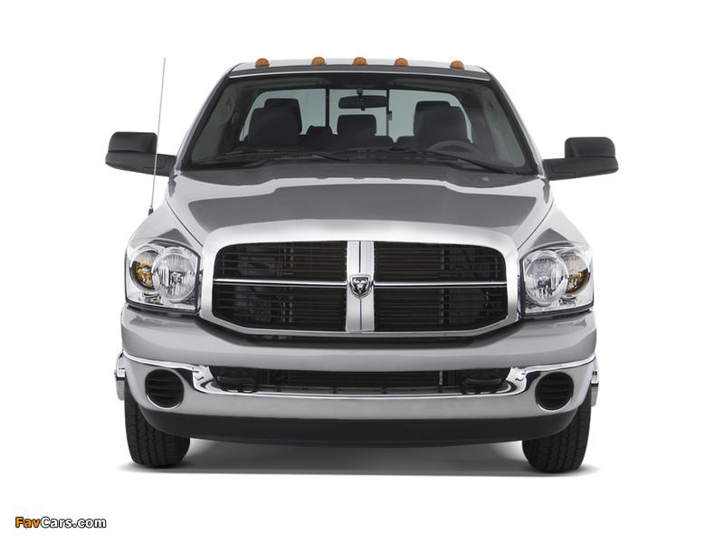 Dodge Ram 3500 Mega Cab 2006–09 wallpapers (800 x 600)
