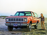 Dodge Ramcharger 1974 photos