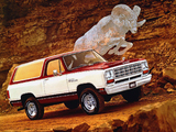 Dodge Ramcharger 1981 images