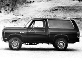 Dodge Ramcharger 1982 photos