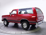 Dodge Ramcharger 1988 photos