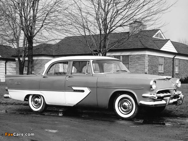Photos of Dodge Regent Sedan 1956 (640 x 480)