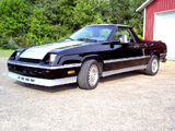 Photos of Dodge Shelby Rampage 1982–84