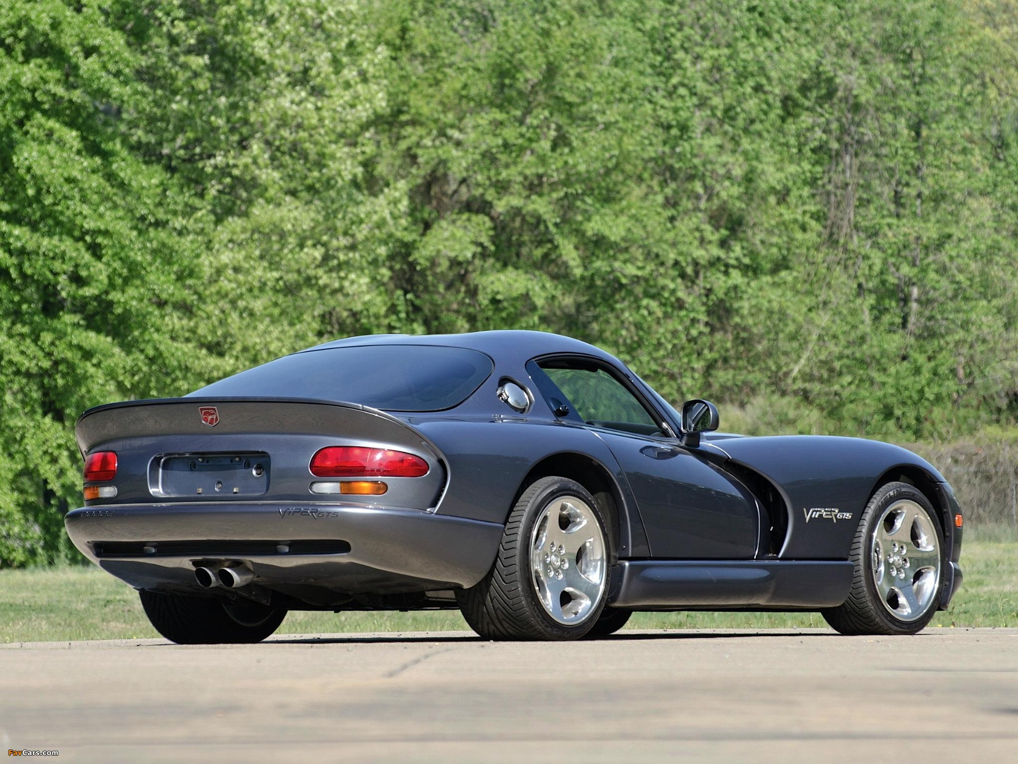 Dodge Viper GTS 1996–2002 images (2048 x 1536)