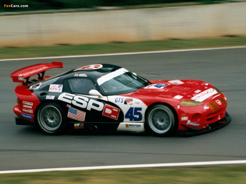 Dodge Viper GTS-R 1996–2005 images (1024 x 768)