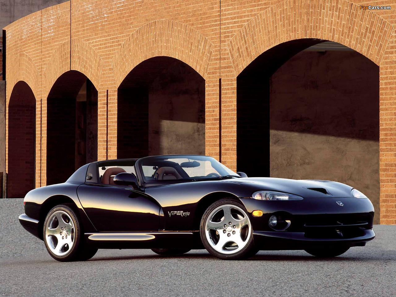 Dodge Viper RT/10 1996–2002 photos (1280 x 960)