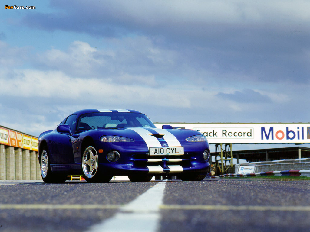 Dodge Viper GTS 1996–2002 pictures (1024 x 768)