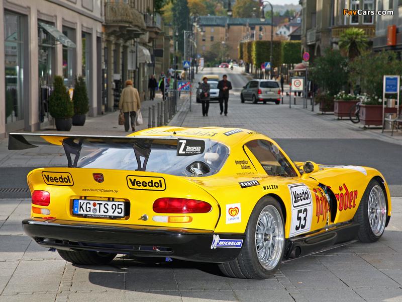 Zakspeed Dodge Viper GTS-R 1998 pictures (800 x 600)