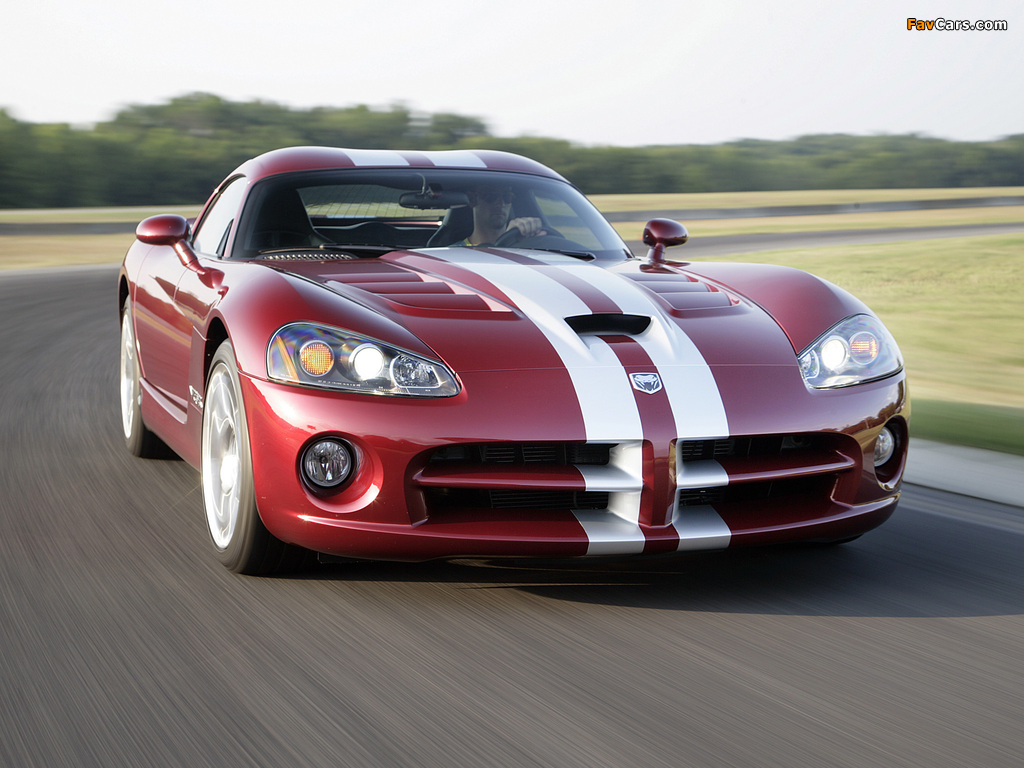 Dodge Viper SRT10 Coupe 2008–10 images (1024 x 768)