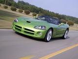 Dodge Viper SRT10 Roadster 2008–10 pictures