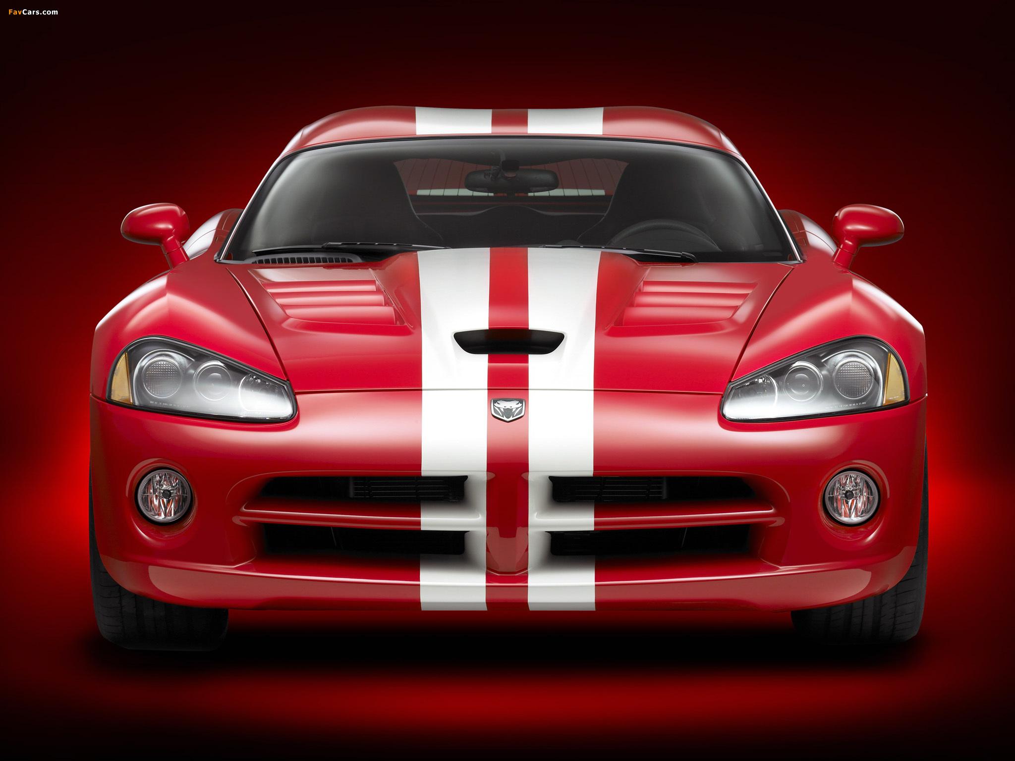 Dodge Viper SRT10 Coupe 2008–10 pictures (2048 x 1536)