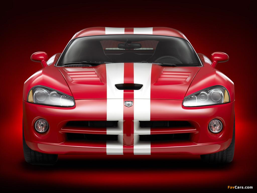 Dodge Viper SRT10 Coupe 2008–10 pictures (1024 x 768)